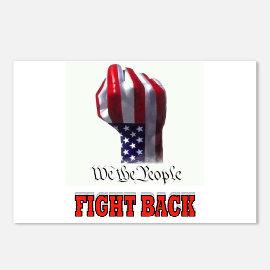 FIGHT BACK Postcards (Package of 8)