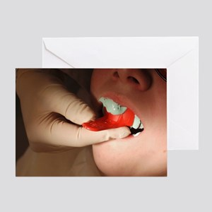 Dental impression - Greeting Card