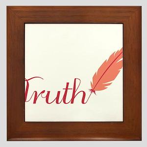 Truth Framed Tile