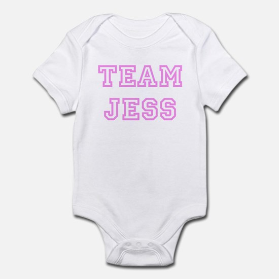 Pink team Jess Infant Bodysuit