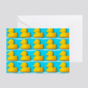 Rubber ducks - Greeting Card