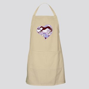 Valentine Heart Hounds Apron