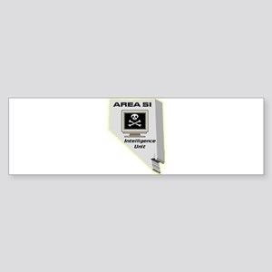 Area 51 Intelligence Unit Sticker (Bumper)
