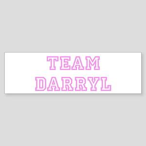 Pink team Darryl Bumper Sticker