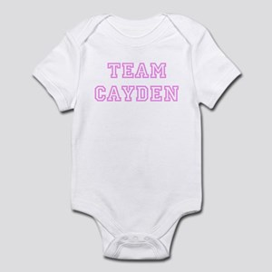 Pink team Cayden Infant Bodysuit