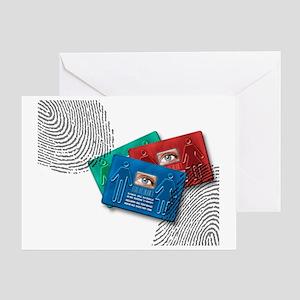 Biometric ID cards - Greeting Card