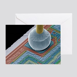 Chip connector, SEM - Greeting Card