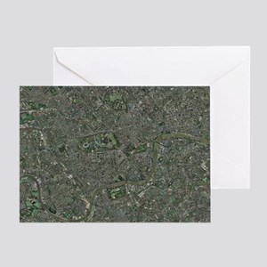 Enlarged congestion charging zone - Greeting Card
