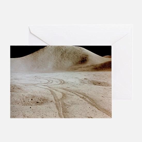 Moon landscape - Greeting Card