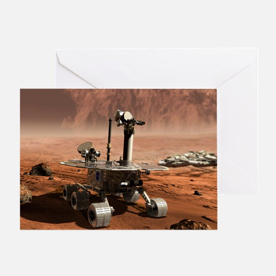 Mars Opportunity rover - Greeting Card