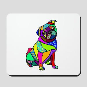 Designed Pug Mousepad
