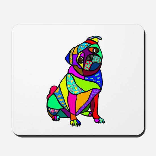 designed pug mousepad - Pug Pictures To Color