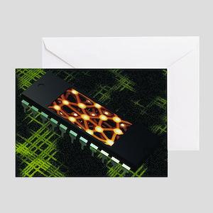 Neural chip - Greeting Card