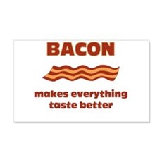 Bacon makes everything tastier Wall Decal