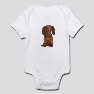 Painted Red Doxie Infant Bodysuit