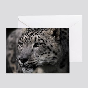 Snow leopard - Greeting Card