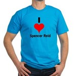 I Heart Spencer Reid 1 Men's Fitted T-Shirt (d