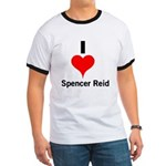 I Heart Spencer Reid 1 Ringer T