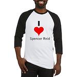 I Heart Spencer Reid 1 Baseball Jersey