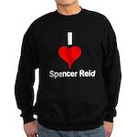 I Heart Spencer Reid white 1 Sweatshirt (dark)