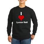 I Heart Spencer Reid white 1 Long Sleeve Dark