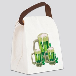 Green Beer Canvas Lunch Bag