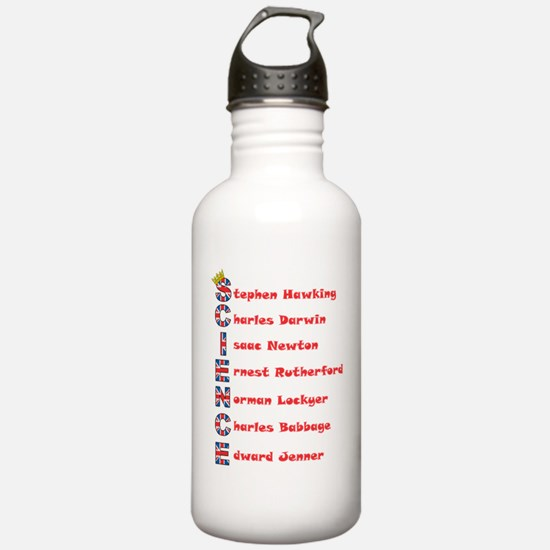 Science Thanks The English! Water Bottle