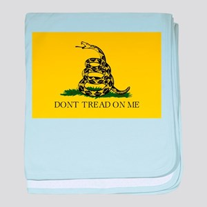 Don't Tread On Me baby blanket