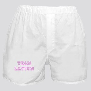 Pink team Layton Boxer Shorts