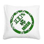 Irish Pride Square Canvas Pillow