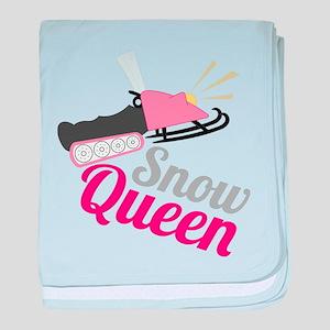 Snow Queen baby blanket