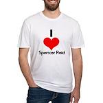 I Heart Spencer Reid 2 Fitted T-Shirt