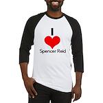 I Heart Spencer Reid 2 Baseball Jersey