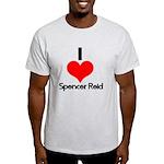 I Heart Spencer Reid 2 Light T-Shirt