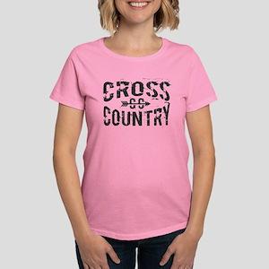 cross country Women's Dark T-Shirt