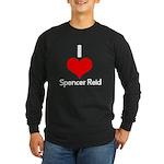 I Heart Spencer Reid white 2 Long Sleeve Dark