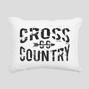cross country Rectangular Canvas Pillow