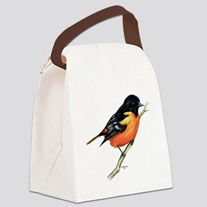 Baltimore Oriole Canvas Lunch Bag