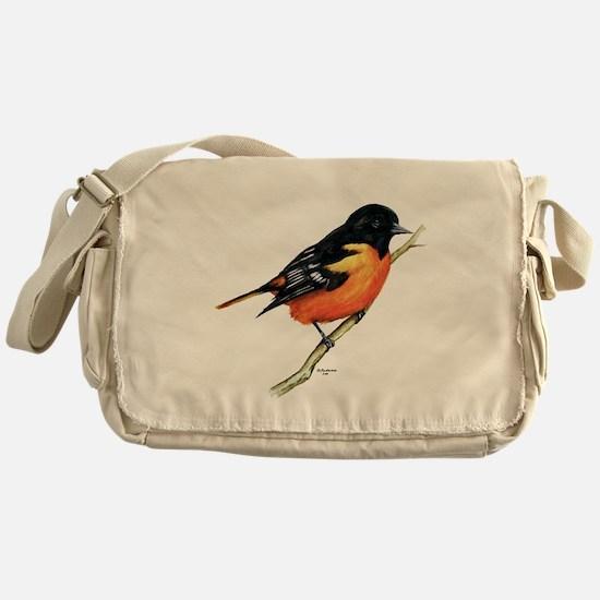 Baltimore Oriole Messenger Bag