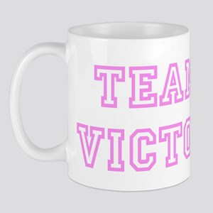 Pink team Victor Mug