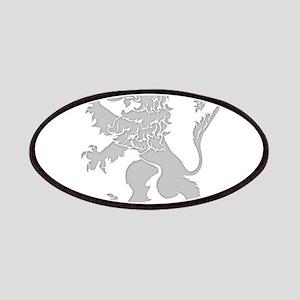 Grey Lion Rampant Patches