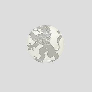Grey Lion Rampant Mini Button
