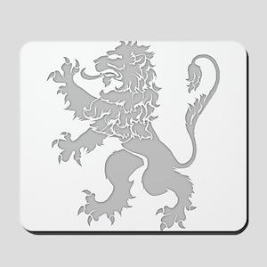 Grey Lion Rampant Mousepad