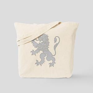 Grey Lion Rampant Tote Bag
