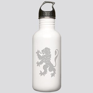 Grey Lion Rampant Stainless Water Bottle 1.0L