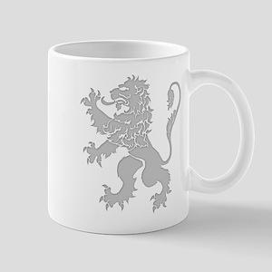 Grey Lion Rampant Mug