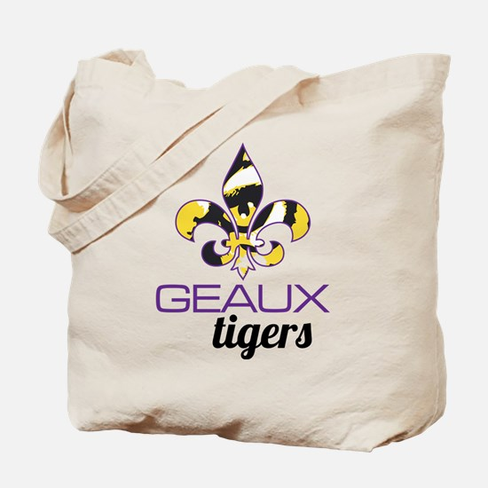 Louisiana Tigers Tote Bag