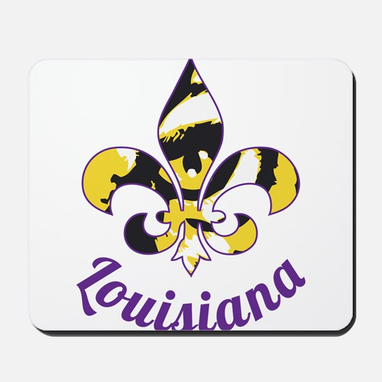 Purple And Gold Mousepad