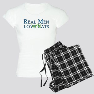 Real Men Love Cats 5 Women's Light Pajamas