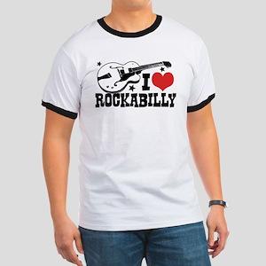 I Love Rockabilly Ringer T